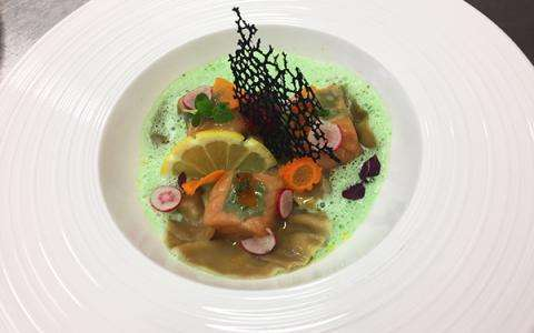 The Relais : Summer menu freshness and pleasure on the terrace