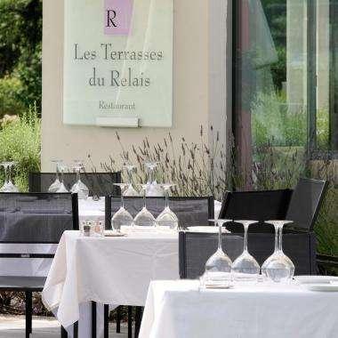Hotel relais de la Malmaison - Photos - les Terrasses du Relais